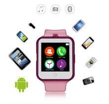 Pulsuhr Smart Bluetooth Uhr C88 Sync Notifier Unterstützung SIM Tf-karte Kamera Smartwatch für iPhone IOS Android Handys