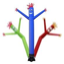 Ветер Танцор труба человек мультфильм надувной танцор воздушный кукольный вне двери танцор небо танцующий человек для рекламы без вентилятора воздуходувки