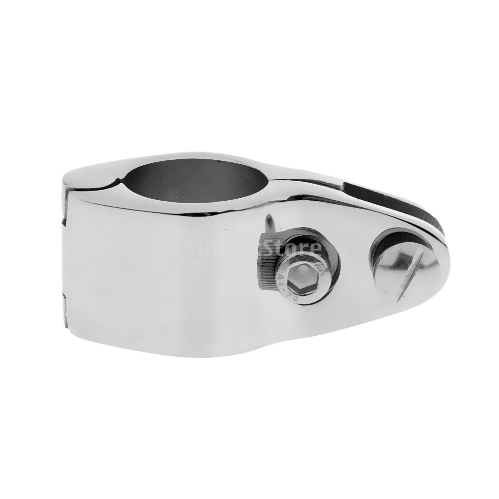 Marine Boat Cover/ Canopy Fitting 316 Stainless Steel Tube Knuckle Clamp Fits 25mm/1 Outer Diameter Tube Hinged