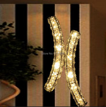 Modern K9 LED crystal wall lights fixture lighting lampada led sconce for home decoration lamps