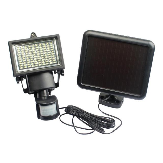 100LED Solar Light Infrared Human Body Induction Lamp Home Outdoor Garden  Porch Lamp Household Anti