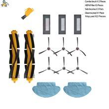 استبدال ممسحة القماش الوسادة الخرق الجانب فرشاة فلتر HEPA فرش الرئيسية ل ECOVACS DEEBOT DE55 DE53 DE6G إكسسوارات قطع غيار