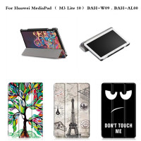PU Leather Case Ultra Thin Slim Smart Stand Cover Cases For Huawei MediaPad M3 Lite 10