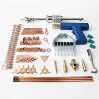 Herramienta de reparación de carrocería kit de tirador de abolladura, soldador de punto, máquina de soldadura, sistema de eliminación de abolladuras