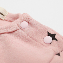 Baby Girls Long Sleeve Warm Romper Jumpsuit Playsuit Moon Outfits Baby Princess One Piece Cute Infant Girl Rompers Baby Clothing