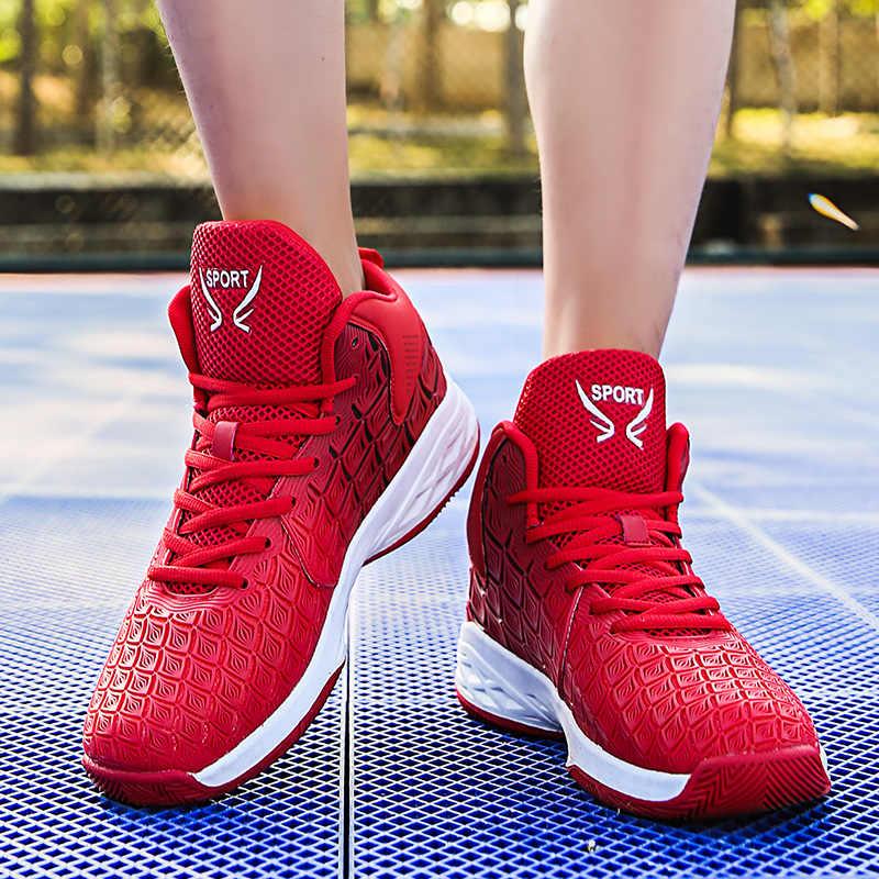 Мужская Баскетбольная обувь, спортивная, ультра наружная подушка, Аутентичные, дышащие женские ботинки, спортивные, универсальные, Max Jame LBJ кроссовки