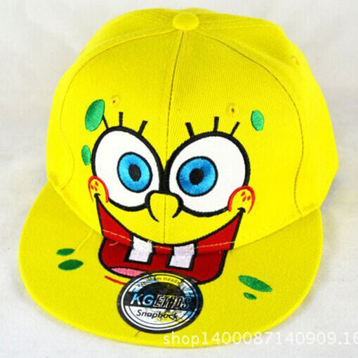 e99de79aac1df Free Shipping Men s hats SpongeBob Cartoon snapback baseball Cap-in ...