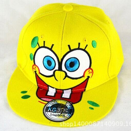 7ce37cf9738e2 Hombres libres del envío sombreros de dibujos animados bob esponja snapback  gorra de béisbol en Disfraces fiestas mujer de La novedad y de uso especial  en ...