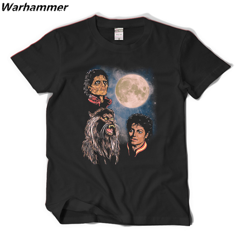 michael jackson thriller t shirt men hi street tee shirt. Black Bedroom Furniture Sets. Home Design Ideas