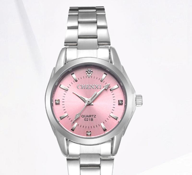 Fashion CHENXI Brand CX021B relogio Luxury Women's Casual waterproof Clocks women fashion Dress Rhinestone Steel Wrist watches
