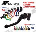 CNC Short Adjustable Brake Clutch Lever For Suzuki RGV250 88-98 SV650S SV650N SV650 S/N 99-10 DL650 V-Strom 04-10 RF600R 93-97