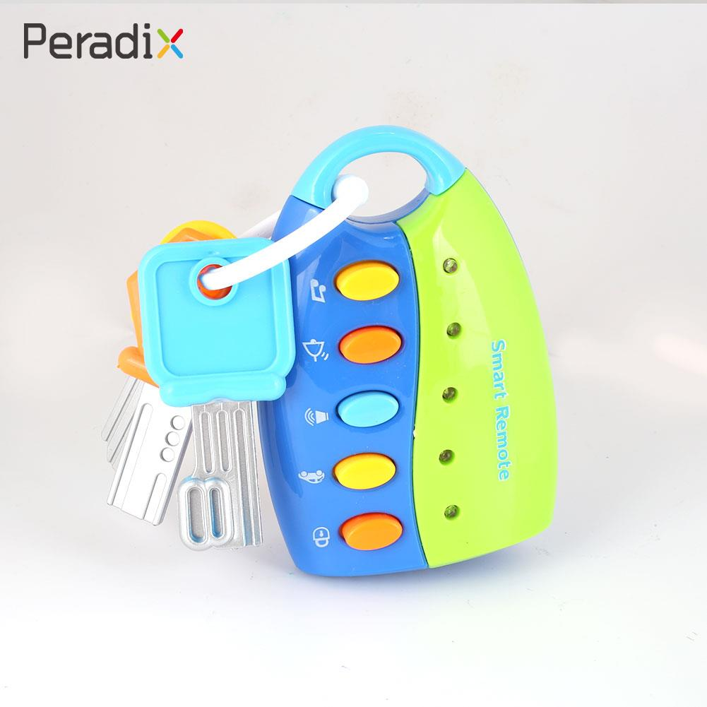 Smart Key Toy Musical Key Toy Study Educational Fashion Multicolor Music Collection Car Key Toy