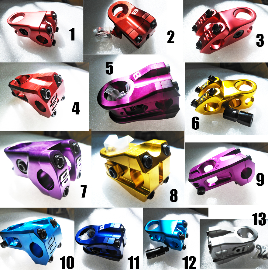 cool price light weight Gig B 22.2 full CNC aluminum alloy BMX stem|bmx stem|alloy stem|aluminium stem - title=