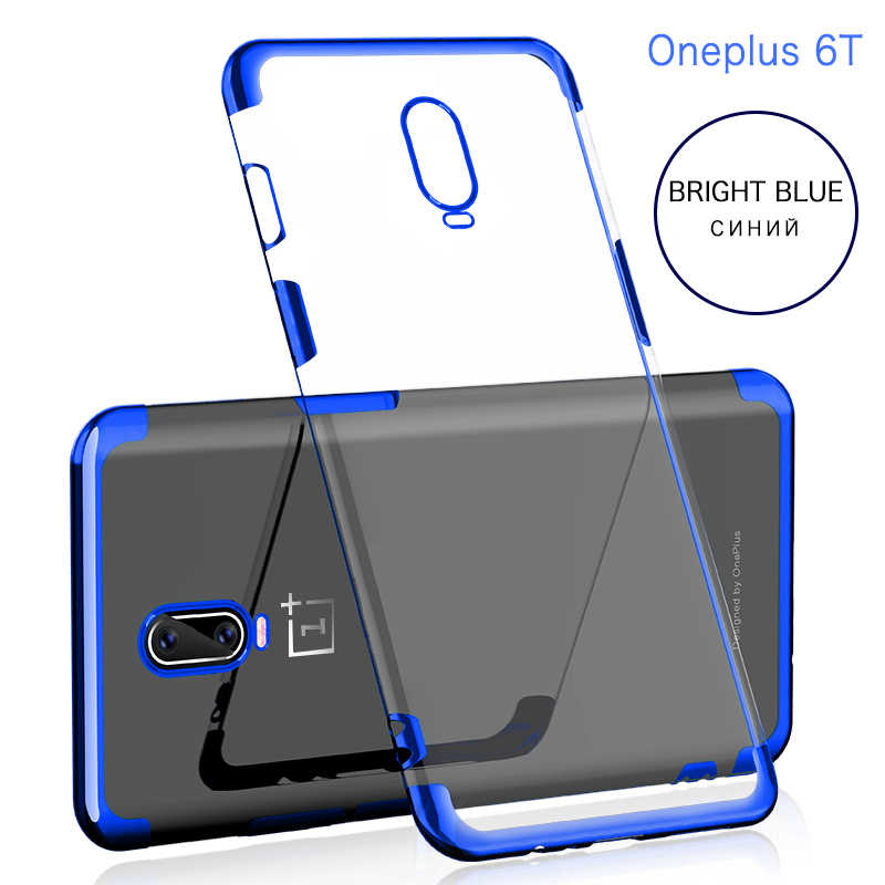 wholesale dealer 4f76c 166c5 GKK Case for Oneplus 6T 5t 5 6 Case Soft Silicone Flexible Cover Phone  Anti-shock Waterproof Slim for Oneplus6T 5 5T Case Coque