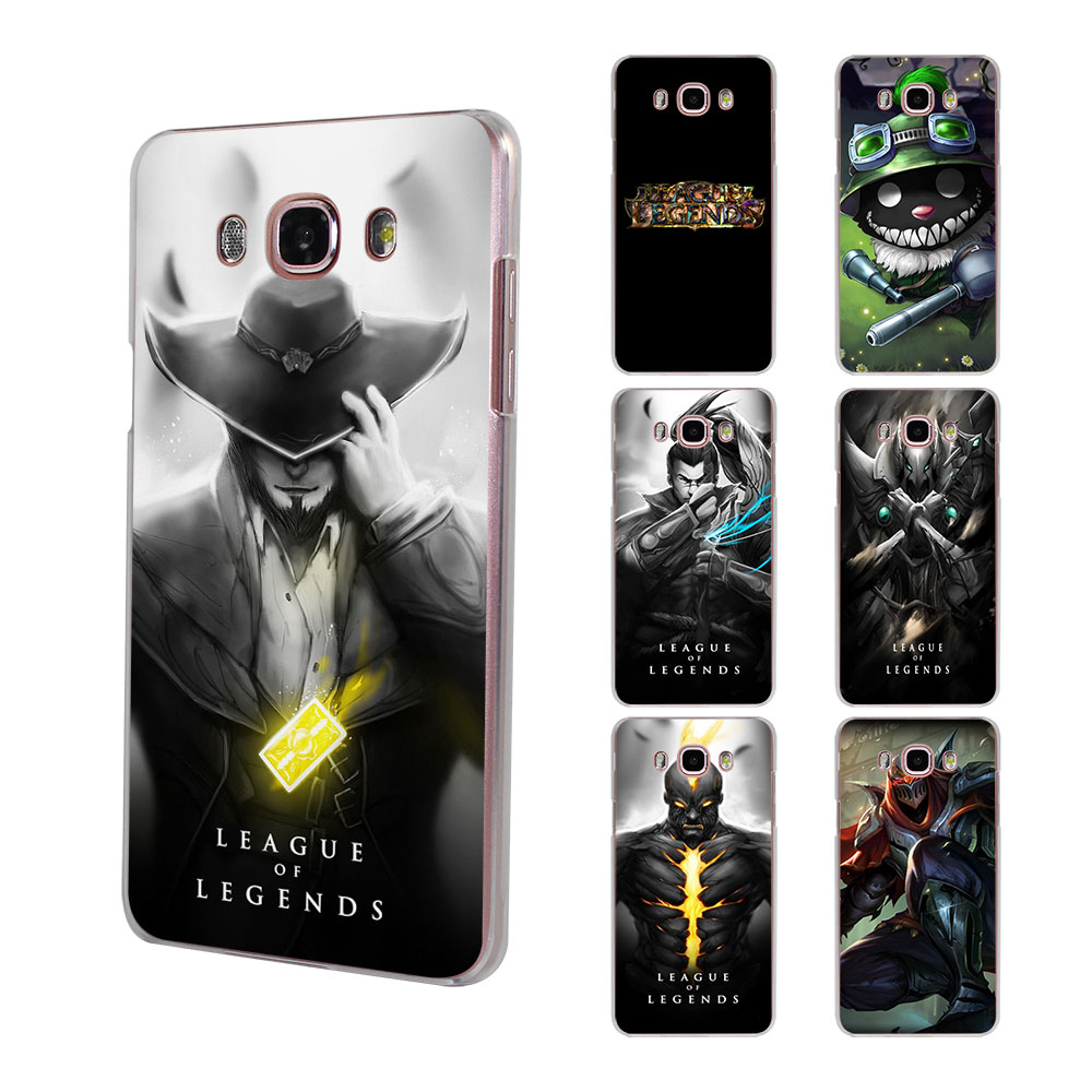 etfc 21 league of legends game lol art hard clear phone case for samsung galaxy