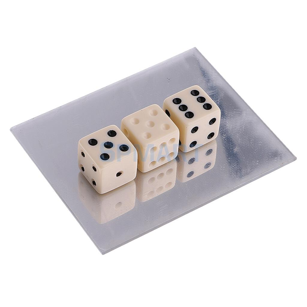 Magic Trick Mirror Dice Illusion Magic Prop Instructional Magic Training Toy ...