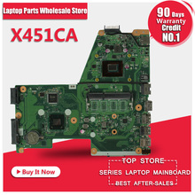 High Quality X451C  X451CA F451 F451C Motherboard for ASUS X451CA REV2.0 Laptop Mainrboard Integration Tested and Package Well
