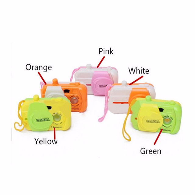 2018 New 1pcs Children Take Photo Educational Toys Baby Learning Study Camera Educational Toys 8.6*5.9*2.5cm 1