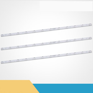 Image 4 - 8Pieces/lot  For Haier Commander TS40M    40 inch LCD TV lamp backlight lamp bead Lamp  12 Lights  79CM