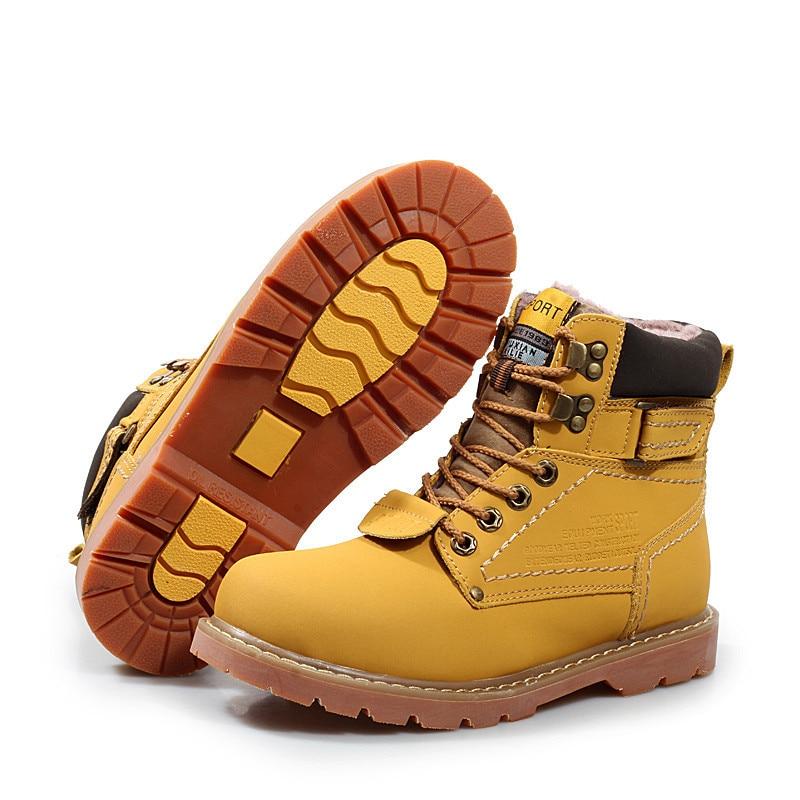 Más Tobillo Hombres dark Fur Cuero Unisex yellow Brown Caliente 46 red Fur Zapatos Tamaño Nieve De Los Botas Fur No Yellow Invierno Calzado Fur Piel 35 Suave XpwwPOqg
