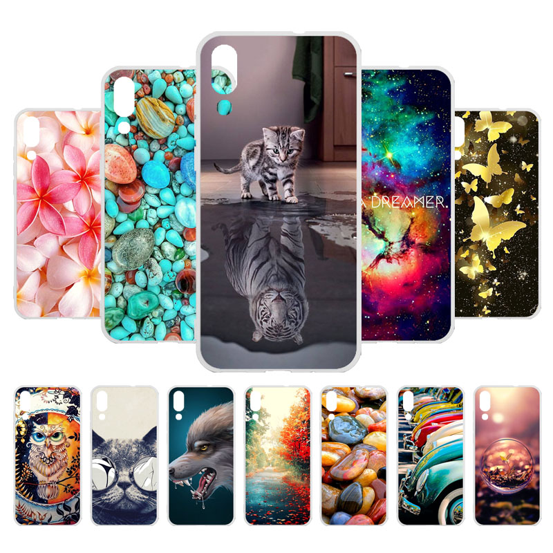 3D DIY Phone Case For Umidigi One Max Case Cover 6.3 Painted Soft Silicone TPU Cases For Umidigi One Max Protective Funda Cover