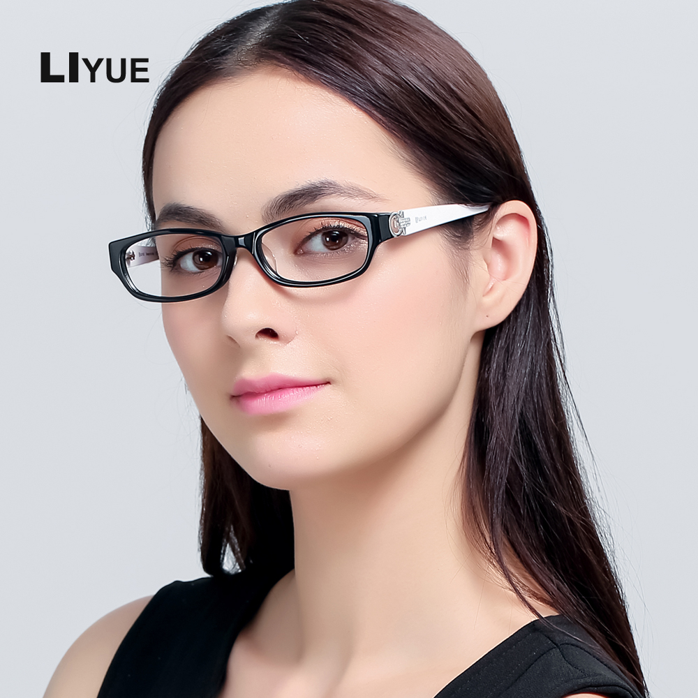 Acetate eyeglasses frame for women optical Clear Lens Reading Glasses Frame spectacle frames prescription glasses myopia eyewear