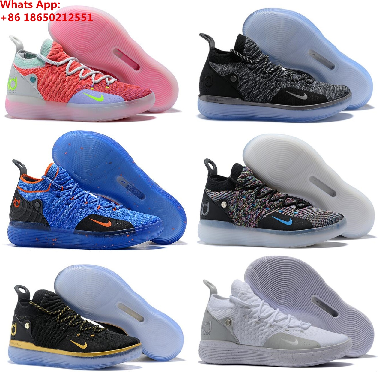online store 1136a cb325 Zoom KD 11 EP XI EYBL Peach Jam Hot Punch Kevin Durant Men KD11 Basketball  Shoes