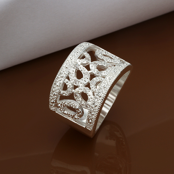 Sterling Silver Jewelry 925 Sterling Silver Rings Fashion Jewelry