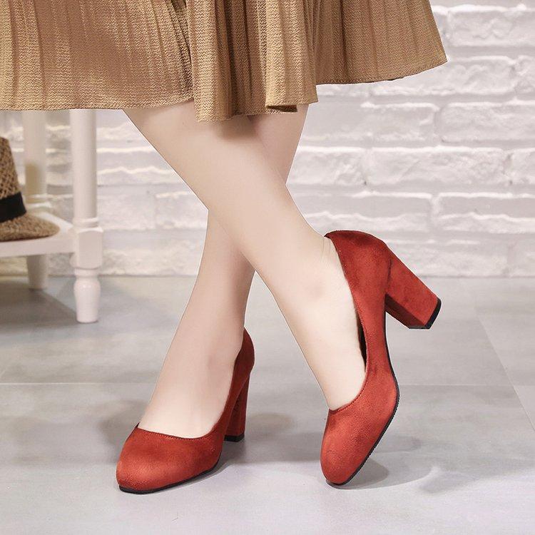Fiesta Zapatos Clásico Bombas Tacón grey De 2019 Boda Negro Tacones Nos Las Alto orange Señoras Mujer BFqn8