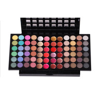 Hot Sale Fantastic Full 78 Colors Eyeshadow Push Pull Palette Makeup Cosmetic Set Kit