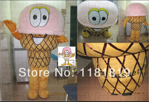 MASCOT ice cream mascot costume icecream custom fancy costume anime cosplay fancy dress carnival costume
