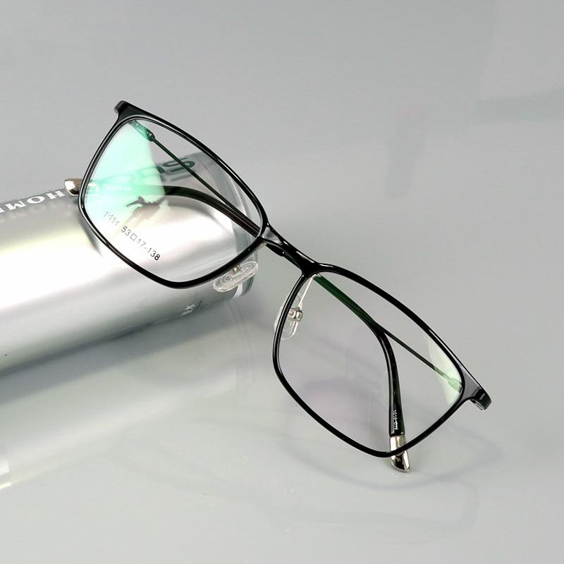 Mujeres Plástico Titanio Moda Marco Cuadrado Comprar Hombres Gafas E9W2DYHI