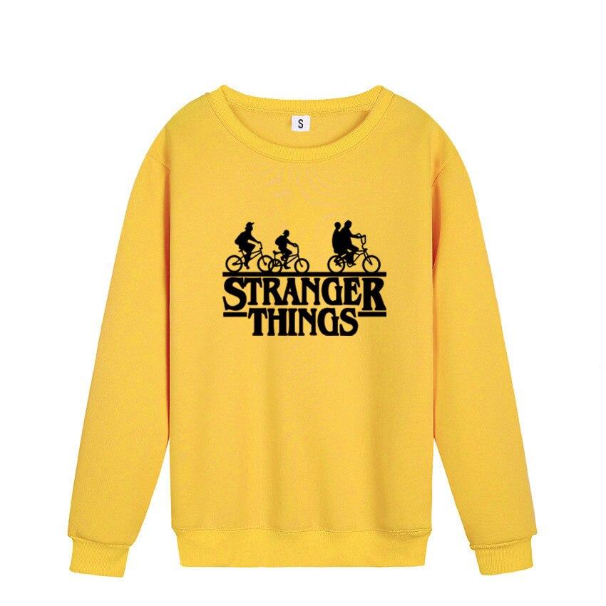 2019 New Stranger Things Printed Men's Hoodie Fashion Winter Autumn Men Women Cotton Hoodies Sweatshirts Tops Pullover Hooded