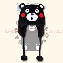 Bear Designer Plush Winter Warm Cute Men Women Unisex Cosplay Anime Cartoon Hat 2pcs
