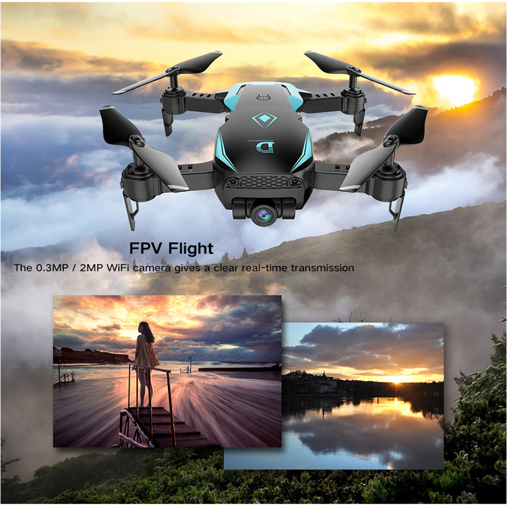 Newest X12 Drone VS E58 Dron 1