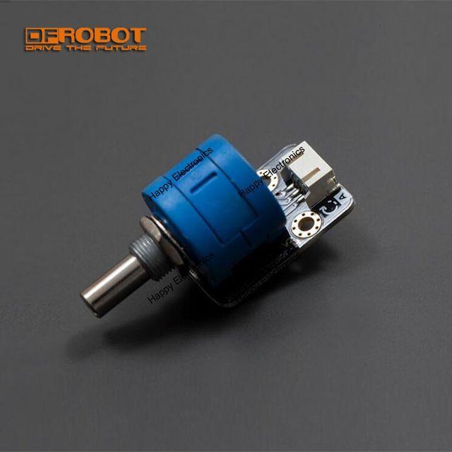 DFRobot 100% Genuine High accuracy Analog Rotation angle Sensor V2, 3.3~5V DC 3600 Degree with Analog Cable for Arduino/DFRduino