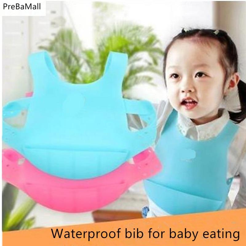 2016 new design Baby bibs waterproof silicone feeding baby saliva towel wholesale newborn cartoon waterproof aprons Baby Bibs