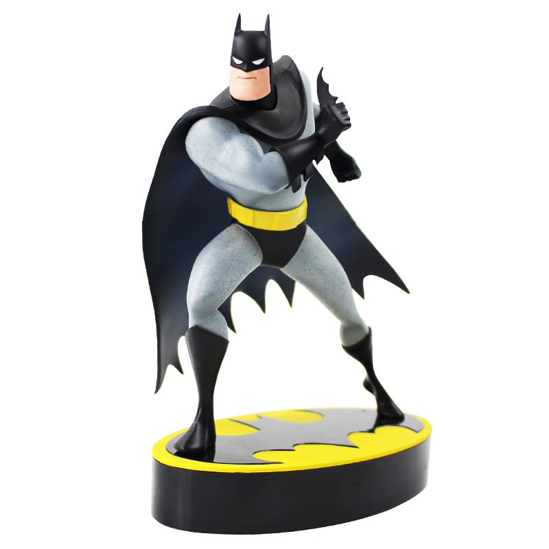 20 Cm Avengers Batman Seri Animasi Artfx + Patung 1/10 Skala Digunakan Dicat Model Kit PVC Action Figure mainan