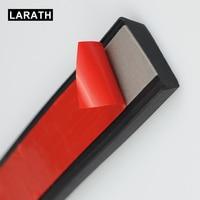 Wheel Hub Car Protector Strips Width TPVC Lip Protector Black Car Scratch Resistant Rubber Width 4cm