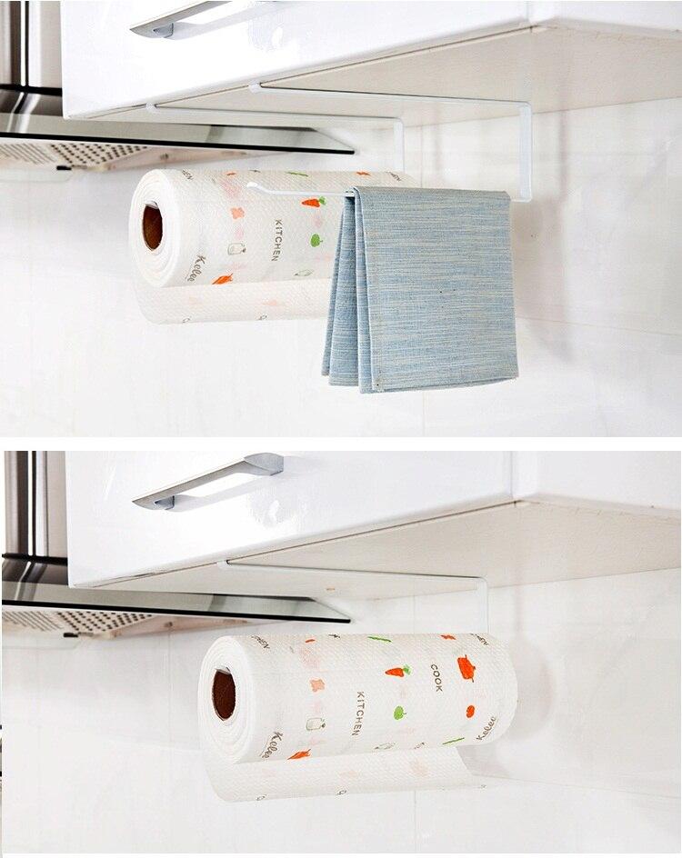 Pared creativa hierro cocina almacenamiento pared del baño estante ...