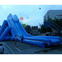 Outdoor giant adult inflatable water slide for commercial use on sale