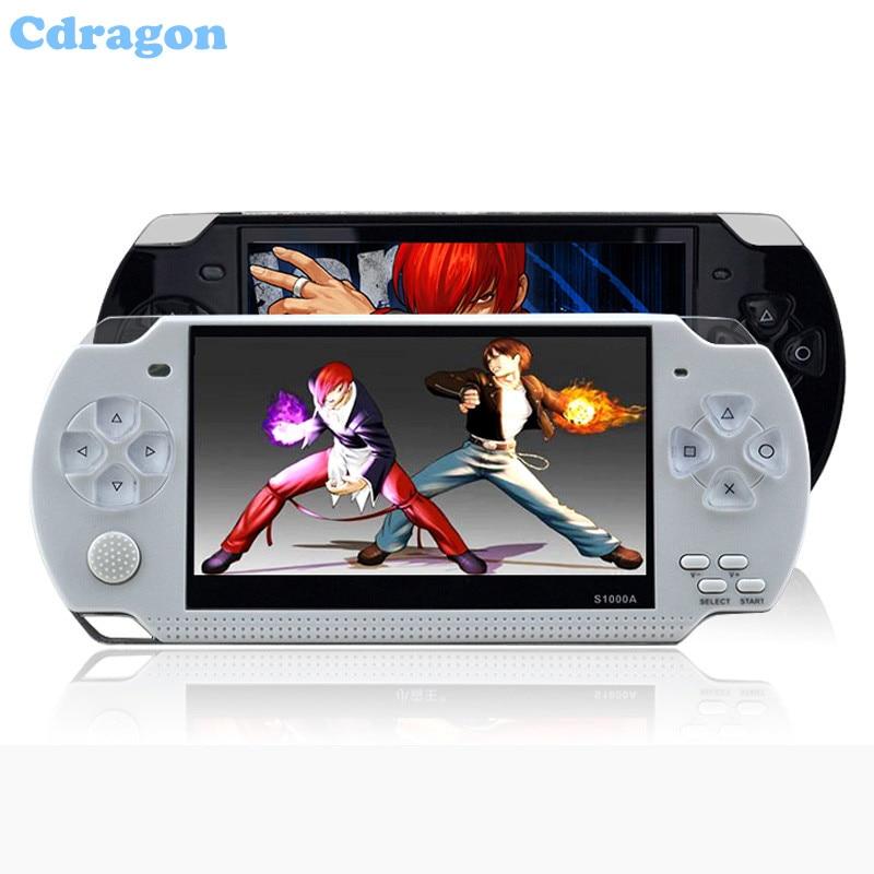 Cdragon console de jeu écran tactile Classidy portable S1000A enfants jeux classiques rétro authentique livraison gratuite
