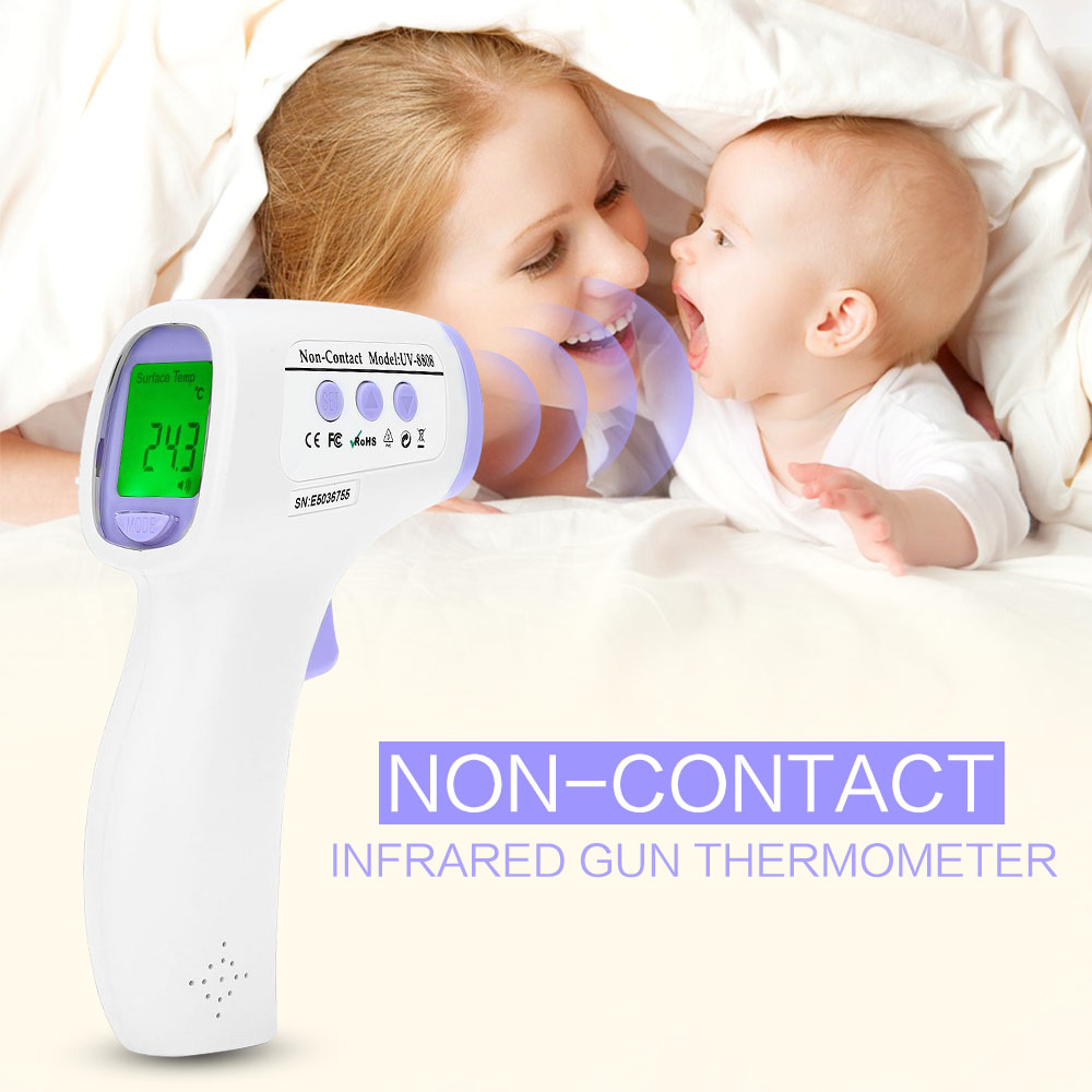 Professional Digital LCD Infrared Thermometer Non-contact IR Temperature Measurement Gun Meter Diagnostic-tool Device digital lcd infrared thermometers baby infrared thermometer gun ear forehead body temperature measurement diagnostic tool device