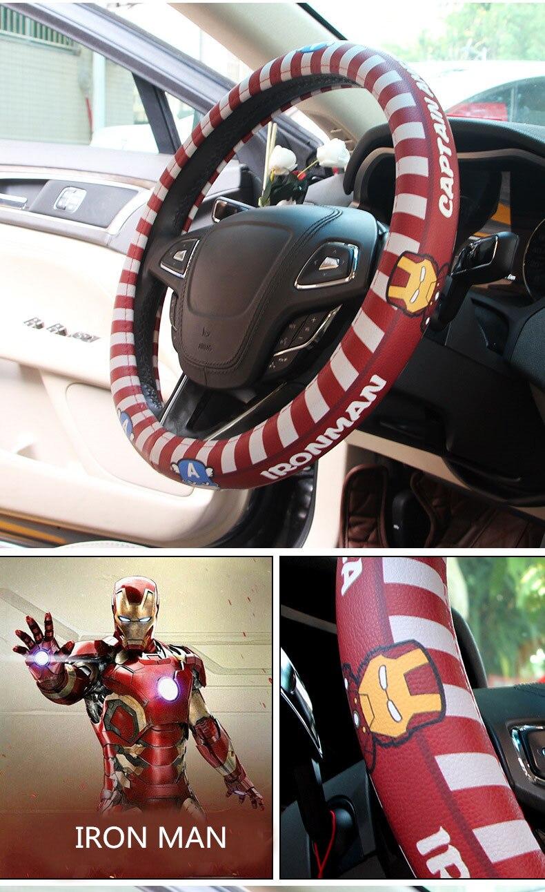 cartoon steering wheel cover 5_