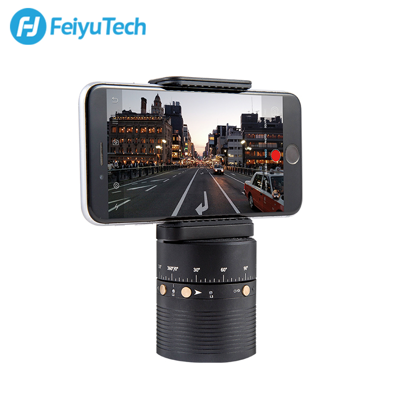 FeiyuTech Feiyu 360 degree Automatic Rotation Stand for Action Cameras/ Smart Phones/ Mirrorless Cameras phones