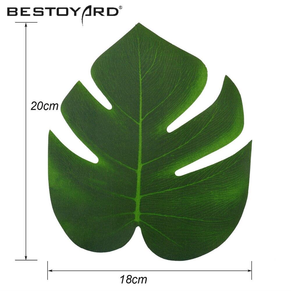 Artificial Tropical Palm Leaves Simulation Leaf For Hawaiian Luau ...