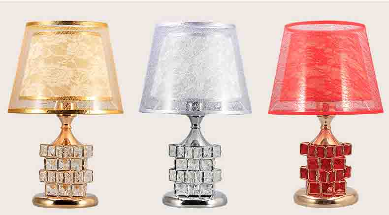 Led Crystal Table Lamp For Bedroom Bedside Lamp Mood Light Lampshade Desk Light Led Decor Home Lamp Night Lamp 2 Model Lighting mabor wake up light display bedside mood snooze desk lamp alarm clock night bulb