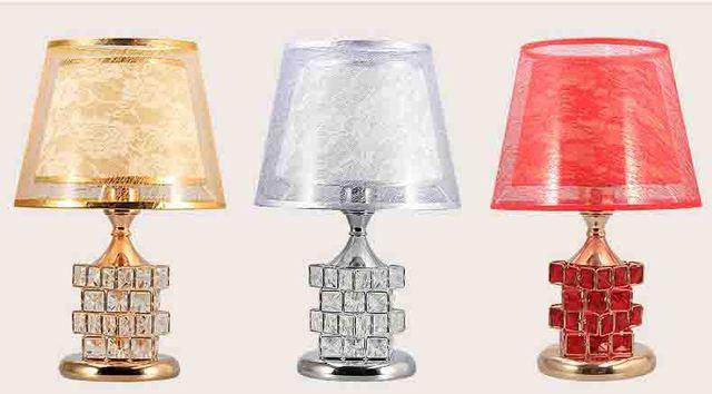 Led Kristall Tischlampe Für Schlafzimmer Nachttischlampen Stimmung Licht  Lampenschirm Schreibtisch Licht Führte Dekor Hause Lampe Nacht
