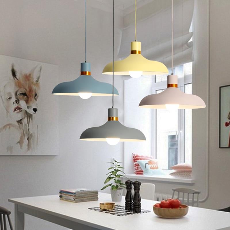 Modern Pendant Light Aluminium Hanging Pot Pendant Lamp Restaurant Dining Room Drop Pendant Light Home Lighting (18)
