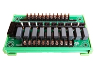 10 way plc 증폭기 보드 사이리스터 220 v 절연 보드 출력 보드 트랜지스터 비접촉 솔리드 스테이트 릴레이